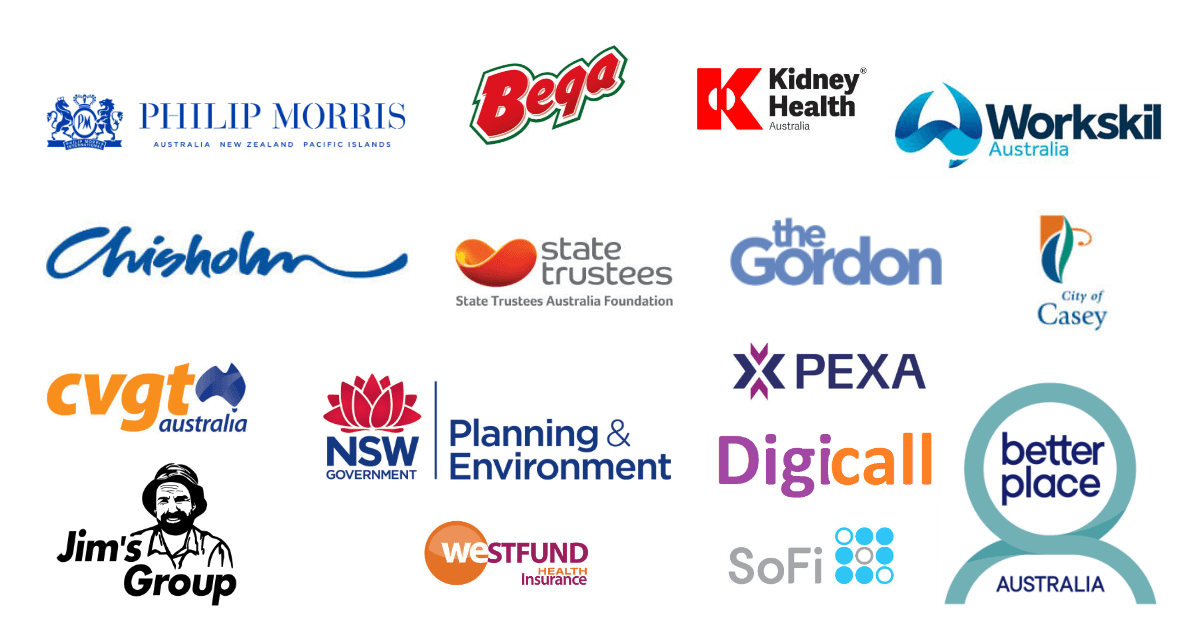 Recent clients of CX Consult for call centre consulting services in Australia